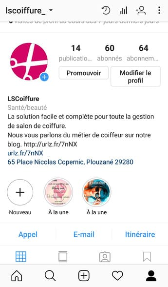 choisir une photo sur instagram guide 1
